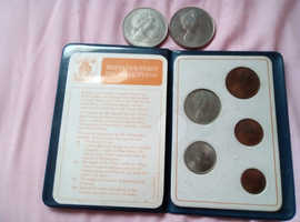 First decimal Coins. 2 coins Lady Diana & Charles