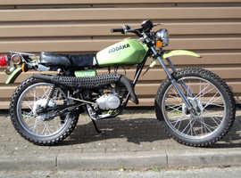 Hodaka 100 Road Toad 1976 Very Rare Classic 2 stroke Restoration Project
