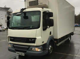 Daf box fridge lorry