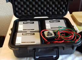 megger test equipment.