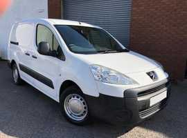 Peugeot Partner 1.6 HDI 90 S 750 LWB Crew Van, 5 Seater, 6 Door, Long MOT, No Advisories, No Vat
