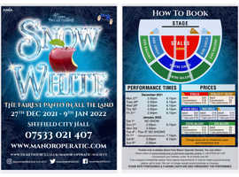 Sheffield City Hall Pantomime Tickets