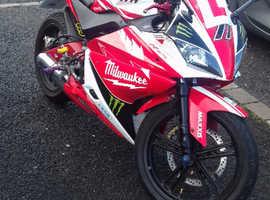 Yamaha yzf r 125cc 2011 plate Seaham