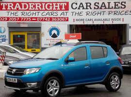 Dacia Sandero, 2014 (14) Blue Hatchback, Manual Diesel, 72,834 miles