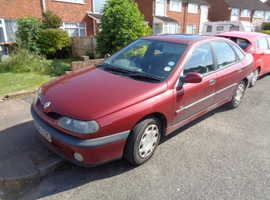 Renault Laguna, 2000 (X) Red Hatchback, Manual Petrol, 140,000 miles