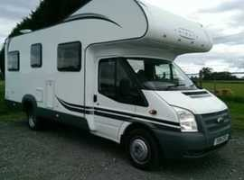 Ford motorhome 6 berth