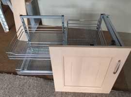 Kitchen Corner Cupboard pull-out storage unit