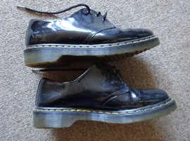 Dr Marten patent leather shoes size 7 good condition