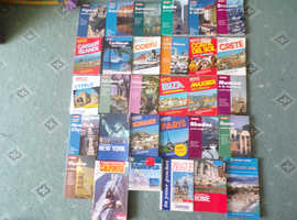 various travel guides