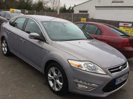 Ford Mondeo, 2012 (62) Silver Hatchback, Manual Diesel, 81,000 miles