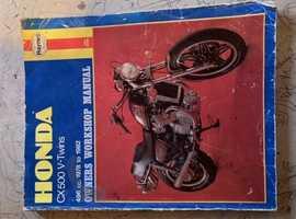 HONDA CX500 Haynes Manual 1978-1982 inc custom models.