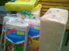 sawdust bale and bedding for small animal