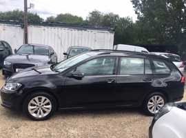 2015 Volkswagen Golf Estate, 1.6 TDI Bluemotion, leather, ULEZ compliant, excellent condition