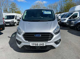 68 Plate Ford Custom 2.0 TDCi (130ps) 300 L1 Low Roof Limited Auto