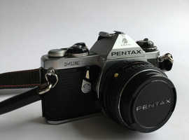 Pentax ME 35mm SLR Film Camera with Pentax-M 50mm F1:2 SMC Lens
