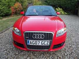 Audi A4, 2007 (07) Red Convertible TFSI S Line (reduced)