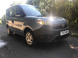 Fiat Doblo wheelchair or scooter access 17 reg. 5000 miles FSH.