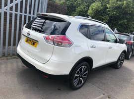 Nissan X-TRAIL, 2017 (17) White Estate, Manual Diesel, 15,103 miles