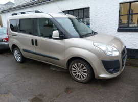 Fiat Doblo, 2010 (60) Beige MPV, Manual Diesel, 99,000 miles
