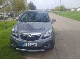 Vauxhall Mokka, 2013 (63) Grey Hatchback, Manual Diesel, 41,000 miles