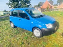 Fiat Panda, 2004 (04) Blue Hatchback, Manual Petrol, 60,000 miles