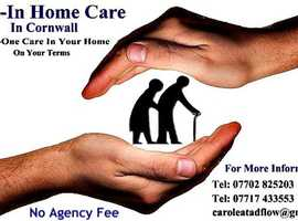 Mature Live-In Female Carers Offering High Level Care In Your Own Home