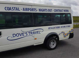 16 seater minibus with driver for hire