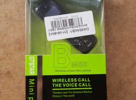 Mini Mobile Phone. Unlocked. Colour Black.