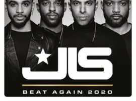 2 JLS Tickets 20/11/2020