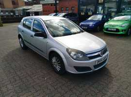 Vauxhall Astra, 2004 (54) Silver Hatchback, Manual Petrol, 75,733 miles
