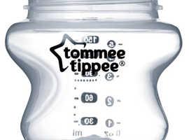 Tommie Tippee 150ml baby bottles x 6