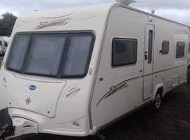 2007 FIXED BED 4 BERTH BAILEY SENATOR INDIANA SERIES 5 MODEL. LOVELY CONDITION. ALL ACCESSORIES.
