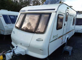 2001 Elddis Avante 475, lightweight 5 berth caravan, tested & ready to use now