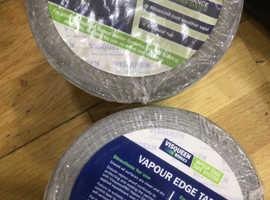 Vapour edge tape
