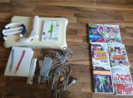 Wii console and attahments