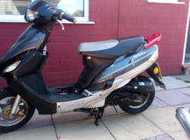 Moped 50cc (breaking all parts) kymco,sym,pulse,directbikes