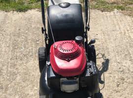 "Honda ""Izy"" 16 Inch self-propelled petrol lawnmower Refurbished Excellent"
