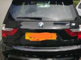 BMW X3 M SPORT, 2007 (07), Manual Diesel, 112,000 miles