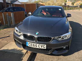 BMW 4 Series, 2015 (65) Grey Coupe, Automatic Diesel, 42,000 miles