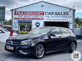 2015/64 Mercedes A180 1.5 CDi Sport Blue-Efficiency finished in Deep Purple Metallic.   41771 miles