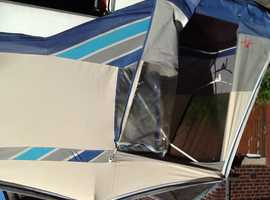 2 person Combi trailer tent ,with full front awning