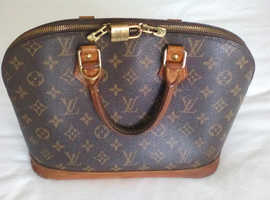 Louis Vuitton Bag Vintage Alma design