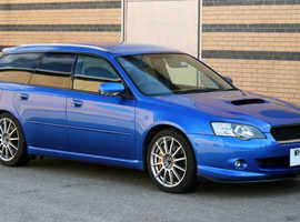 2005 Subaru Legacy 'Tuned by STI' BP5 Estate (import, JDM, EJ20, not impreza)