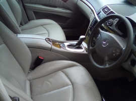Mercedes E Class, 2004 (54) Black Saloon, Automatic Diesel, 125,265 miles