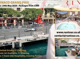 MONACO GRAND PRIX YACHT PACKAGE weekend away