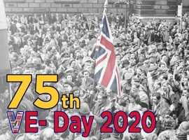 Caterpillar UK 75th VE Day Anniversary Street Party