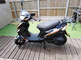 Longjia Digita 51 50cc Moped/Scooter 395 miles from new MOT June 2020