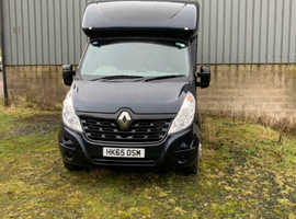 Renault master 2015 Horse transporter only covered 23k, immaculate condition all round