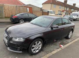 Audi A4, 2010 (10) Grey Saloon, Cvt Diesel, 87,000 miles