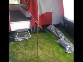 Trailer tent sunseeker deluux classic instructions as shown on picture. STAYCATION better than nocaction.